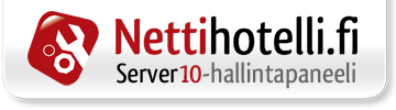 Hallintapaneeli: server10.nettihotelli.fi